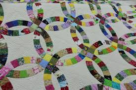 Double Wedding Ring Quilt by Heirloom Quality Quilt Double Wedding Ring Quilt Handmade Quilt