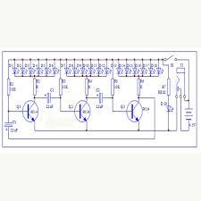 3d xmas tree diy kits flash led circuit christmas trees led 7