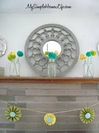 Spring Decorating Ideas 62 Inspiring And Fresh Spring Mantels Digsdigs