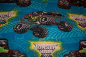 grave digger monster truck bedding monster jam grave digger soft fleece throw blanket ad 3738383