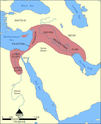 Blank Map Of Eastern Mediterranean by Map Of The Fertile Crescent Illustration Ancient History