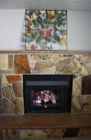 reclaim ologists and other crafty flagstone fireplace redo