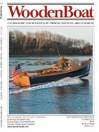 Radio Control Model Boat Magazine Woodenboat 216 Septoct 2010 Transport Nature