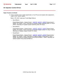 lexus gx470 p0418 code p2445