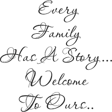 wedding quotes joining families every family story wall decal front entry wall decals and walls
