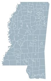 Mississippi State Map Map