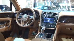 navy blue bentley bentley bentayga auto salon brussels 2016 youtube