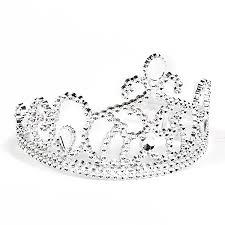 halloween crowns and tiaras amazon com silver princess tiara clothing