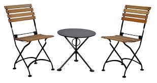 Wooden Bistro Chairs Amazon Com Mobel Designhaus French Café Bistro Folding Side
