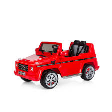 mercedes benz jeep red battery operated suv mercedes benz g55 chipolino