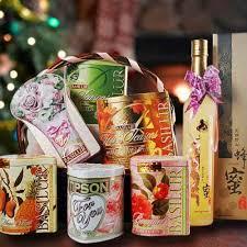 sg florists christmas gift ideas tea hamper same day delivery