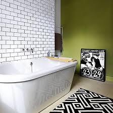 Green And White Bathroom Ideas Green And White Bathroom White Bathrooms Modern Bathroom And