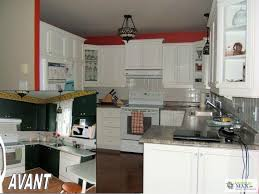retaper armoire de cuisine transformation rénovation d armoires de cuisine en mélamine