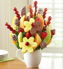 fruit flower bouquets fruit bouquets healthy in fort worth from boxed lunches