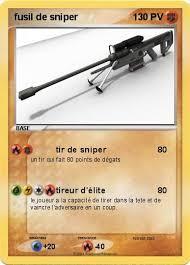 Pokémon fusil de sniper  tir de sniper  Ma carte Pokémon