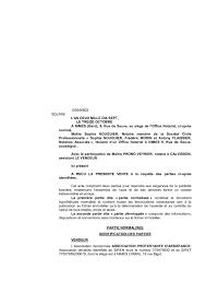 chambre des notaires nimes calaméo copie aae avec annexes vente association protestante izquierdo