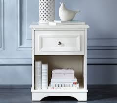 pottery barn kids flower table stylish white night stands for fillmore nightstand pottery barn kids
