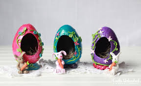 sugar easter eggs decorative eggs faux sugar easter eggs tutorial