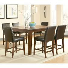 7 Piece Dining Room Sets Brookshire 7 Piece Square Counter Height Dining Set