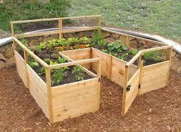 Wood For Raised Vegetable Garden by Best 10 Raised Garden Bed Design Ideas On Pinterest Raised Bed