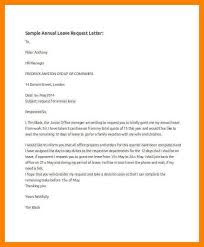 Exle Letter Request Annual Leave vacation leave request letter sles save btsa co