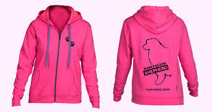 australian shepherd outline australian shepherd hoodie full zipped ladies