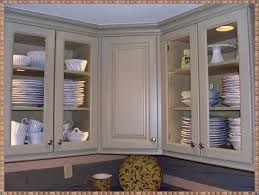 Kitchens Cabinet Doors Fabulous White Kitchen Cabinet With Textured Glass Doors Wood Home