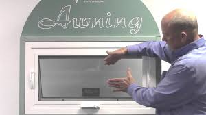 Awning Window Fly Screen How To Remove And Install An Awning Window Screen Youtube