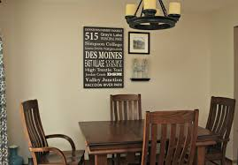 hometown dining room wall gallery sometimes homemade