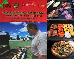 Backyard And Grill by Backyard Chef Bake And Grill Master Bbq Grill Mat Baking Mat