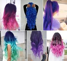 Types Of Hair Colour by Hairstyles Different Hair Color Styles Regarding Different Types