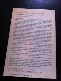 the poetry of robert frost constellations of intention reuben
