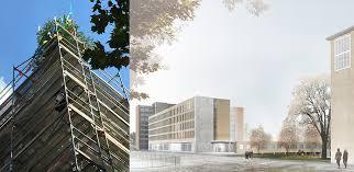 architektur uni kã ln richtfest erweiterungsbau der uni köln messe schulbau