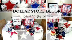 halloween decorations dollar store dollar store diy u0027s u0026 decor fourth of july tablescape youtube