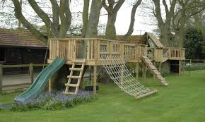 outdoor play with wooden climbing frames outdoor forts bespoke