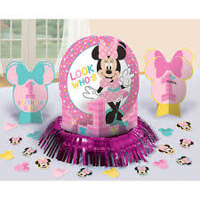 minnie mouse 1st birthday party ideas paper birthday child minnie mouse party decorations ebay