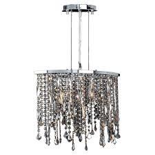 monteaux lighting 1 light chrome and crystal pendant 107 dnp the