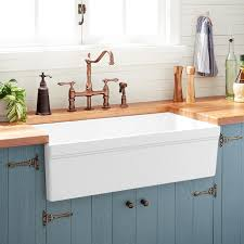 white kitchen cabinets with farm sink 36 gallo fireclay farmhouse sink white