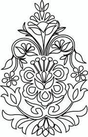 Floral Art Designs Magyar Folk Art Motif Flower Style From The Town Of Kalocsa