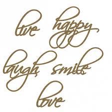 happy word set