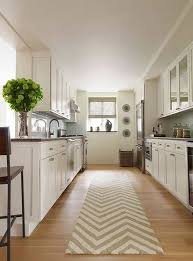 Chevron Runner Rug Kitchen Idea With Chevron Runner Rug And Vases And Wall Decor