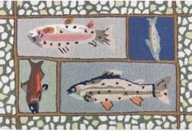 Fish Area Rugs Fish Area Rug Amazon Com