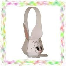 bunny easter basket free printable bunny easter basket