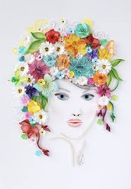 Yulia Brodskaya Quilling Master Class By Vyjus Youtube