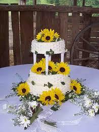 sunflower wedding ideas sunflower wedding cake ideas idea in 2017 wedding