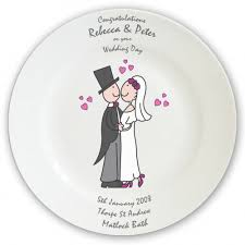and groom plates floid s groom wedding plate personalised with all the