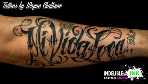 lettering arm tattoos browse worlds largest tattoo image gallery trueartists com