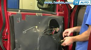 2003 Ford Expedition Interior Parts How To Install Replace Inside Door Handle Ford F 150 Expedition 97