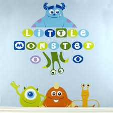 Playroom Decals Wall Kids Room Nursery Wall Decor Baby Monsters