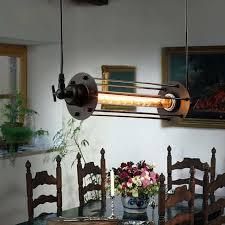 Vintage Dining Room Lighting Edison Vintage Pendant L Loft Wrought Iron Pendant Lights